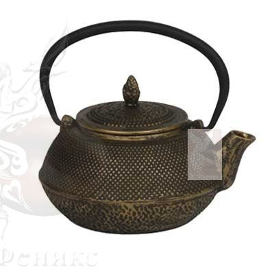 Чайник чугунный с ситом
